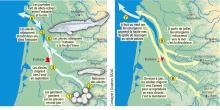 Le cycle biologique de l'esturgeon européen © Irstea-Graphies 3824