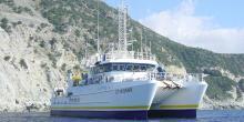 Navire Europe de la flotte de l'Ifremer
